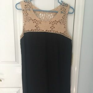Loft Linen Black dress